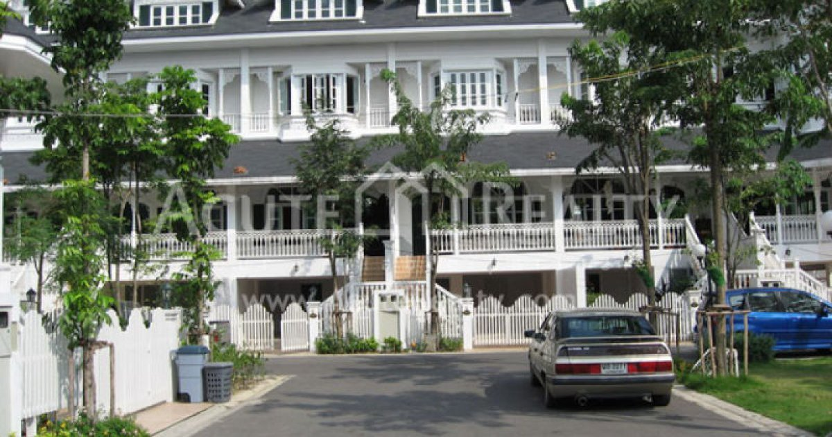 4 bedroom townhomes for rent 4 bed townhouse for rent in mueang samut prakan samut 18010