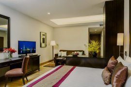 2 bedroom serviced apartment for rent in Sathon, Bangkok
