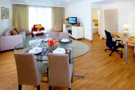3 bedroom serviced apartment for rent in Somerset Lake Point near BTS Asoke