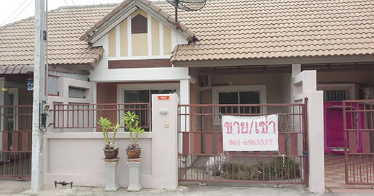 2 bed townhouse for rent in sattahip chonburi 6 000 for 2 bedroom townhouse