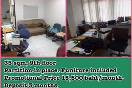Office for rent in Gems Tower near BTS Saphan Taksin