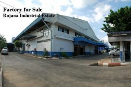 Warehouse and factory for sale in Uthai, Phra Nakhon Si Ayutthaya