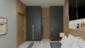 Wardrobe / door to the bathroom