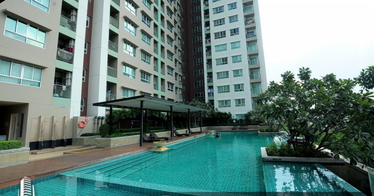 1 bed condo for sale in lumpini place rama ix ratchada for I bedroom condo for sale