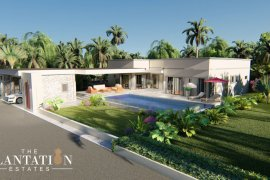 3 Bedroom Villa for sale in The Plantation Estates, Pong, Chonburi