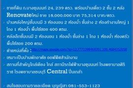 4 Bedroom House for sale in Bang Khun Non, Bangkok near MRT Bang Phai