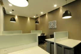 Office for rent in AIA Capital Center near MRT Thailand Cultural Centre