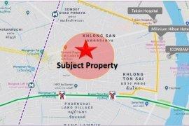 Land for sale in Khlong San, Bangkok