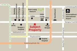 Land for sale in Srinakarin, Bangkok near MRT Si Iam