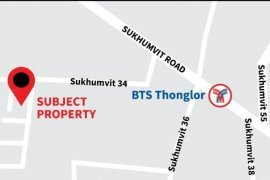 Land for sale in Khlong Toei, Bangkok near BTS Thong Lo
