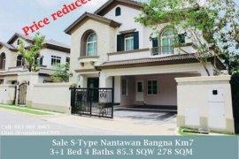 4 Bedroom House for sale in Nantawan Bangna Km. 7, Bang Kaeo, Samut Prakan