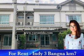 3 Bedroom Townhouse for rent in Bang Bo, Samut Prakan