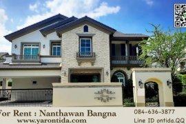 4 Bedroom House for rent in Nantawan Bangna Km. 7, Bang Kaeo, Samut Prakan