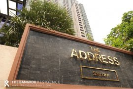 2 Bedroom Condo for rent in The Address Sathorn, Silom, Bangkok near BTS Chong Nonsi