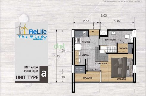 Condo for sale in ReLife the Windy Condominium