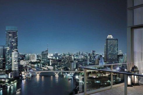 2 Bedroom Condo for rent in Four Seasons Private Residences Bangkok at Chao Phraya River, Yan Nawa, Bangkok near BTS Saphan Taksin