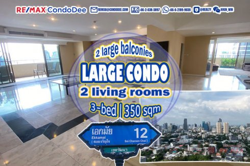 3 Bedroom Condo for sale in Oriental Towers, Phra Khanong, Bangkok