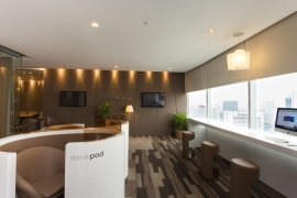 Office for rent in Sathorn Square near BTS Chong Nonsi