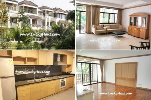 4 bedroom townhouse for rent near MRT Lat Phrao