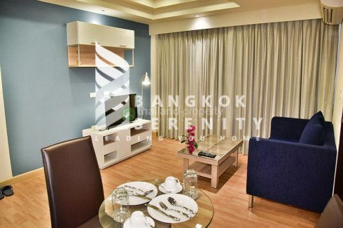 1 Bedroom Serviced Apartment for rent in Khlong Tan, Bangkok near BTS Phrom Phong