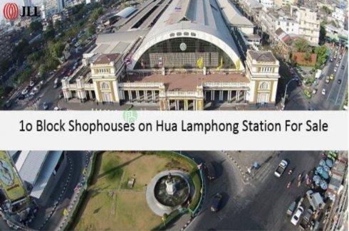 Shophouse for sale in Rong Mueang, Bangkok near MRT Hua Lamphong