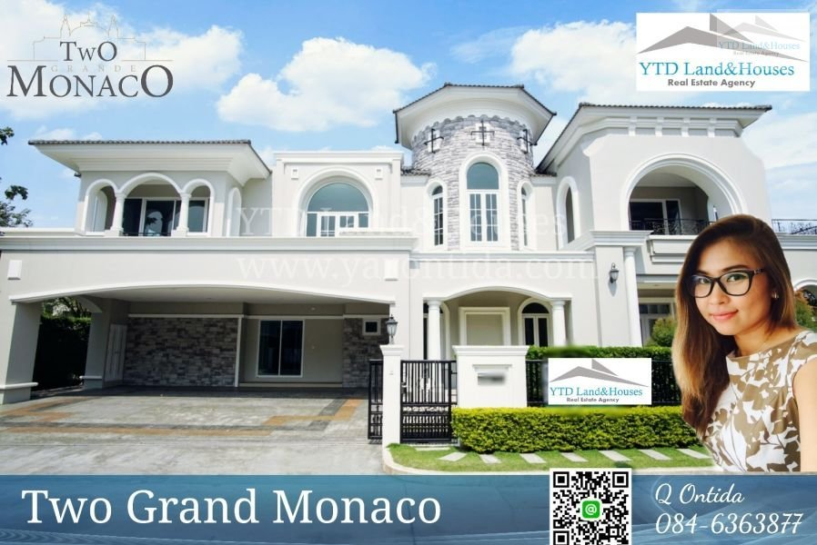 For Sale Luxury House With Pool Two Grand Monaco 45 M Thb House For Sale In Bangkok Thailand Property