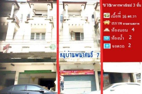 4 Bedroom Shophouse for sale in Sai Kong Din, Bangkok near MRT Suwinthawong