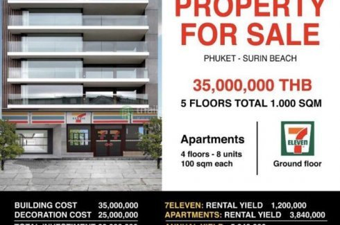 16 Bedroom Land for sale in Karon Butterfly Condominium, Karon, Phuket