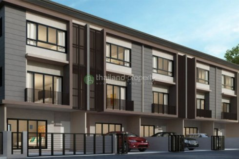 3 Bedrooms Townhouse In The Connect Chalermphrakeit 67 Prawet Bangkok Thailand Property